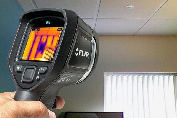 location camera thermique diagnostic