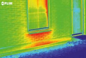 image de camera thermique