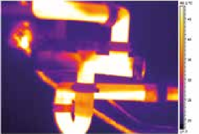 Détection des problèmes de plomberie par camera thermique.