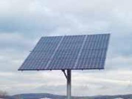 panneau solaire défectueux